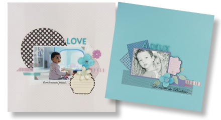 Papiers Scrapbooking Clairefontaine